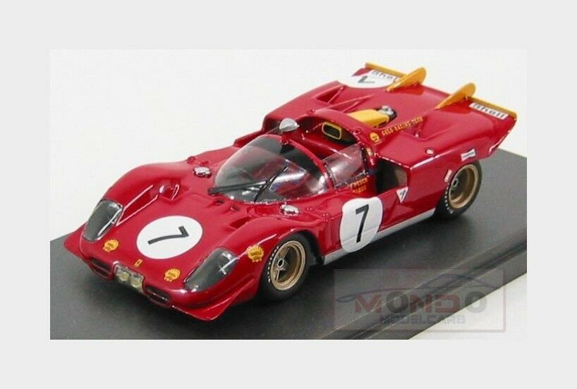 FERRARI 512s SPIDER  7 1000km Paris 1970 Loos Pesch MG MODEL 1:43 mg512s-28 MODA