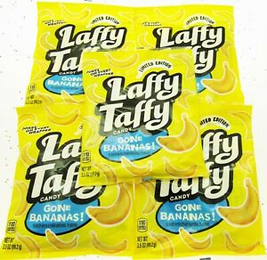 Details about Laffy Taffy Candy ~ Gone BANANAS ~Jokes In Every Wrapper~ Lot  of 5 Bags 3 5oz ea