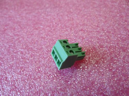 1 x MC 1,5// 3-ST-3,81 1803581 Klemmleiste 3 gerade Stecker