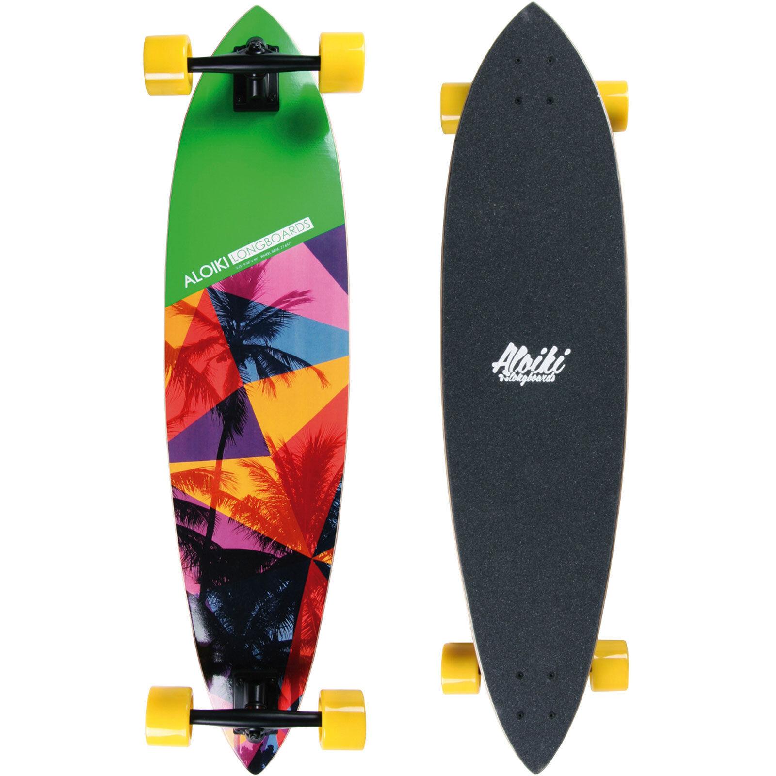 Aloha Freeride Aloiki Longboards Komplett Freestyle Cruiser Freeride Aloha Downhill NEU 218b83