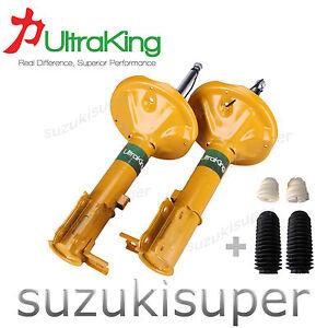 2-Rear-Struts-Hyundai-Accent-LC-LS-Sedan-Hatchback-Shock-Absorbers-6-00-4-06