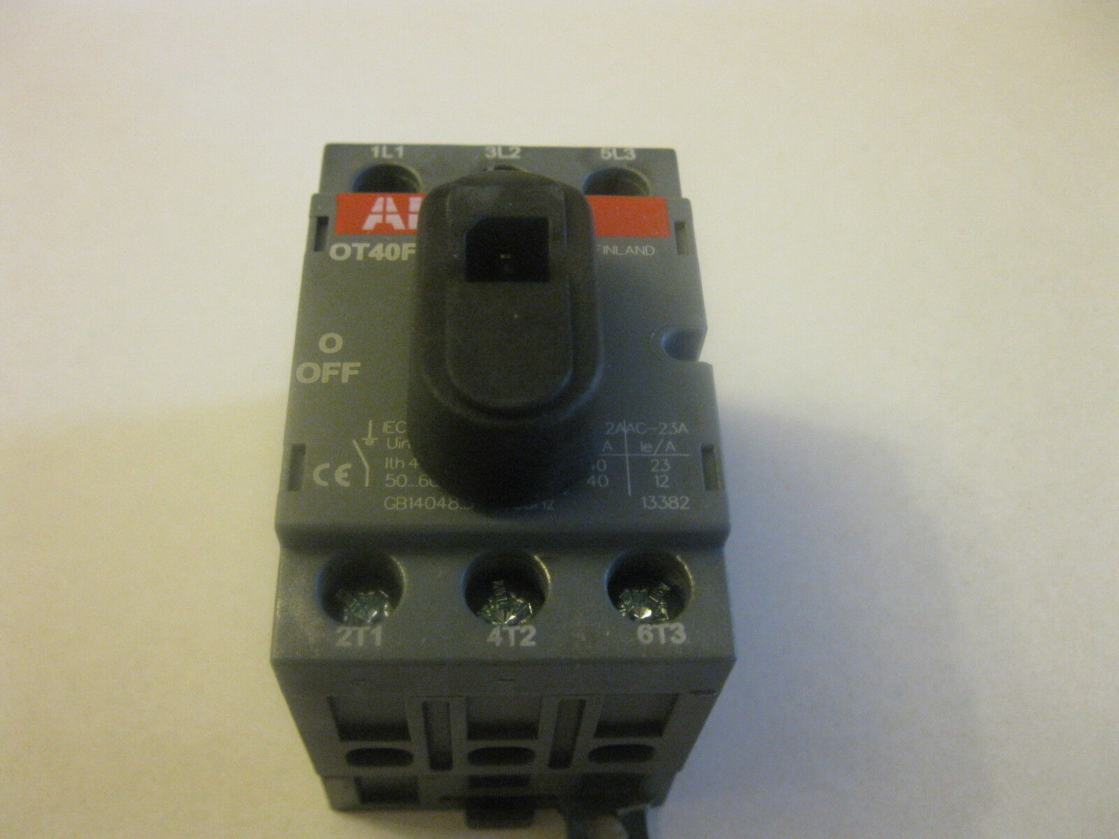 OETL-400D1 - ABB - Disconnect Switch | Galco Industrial