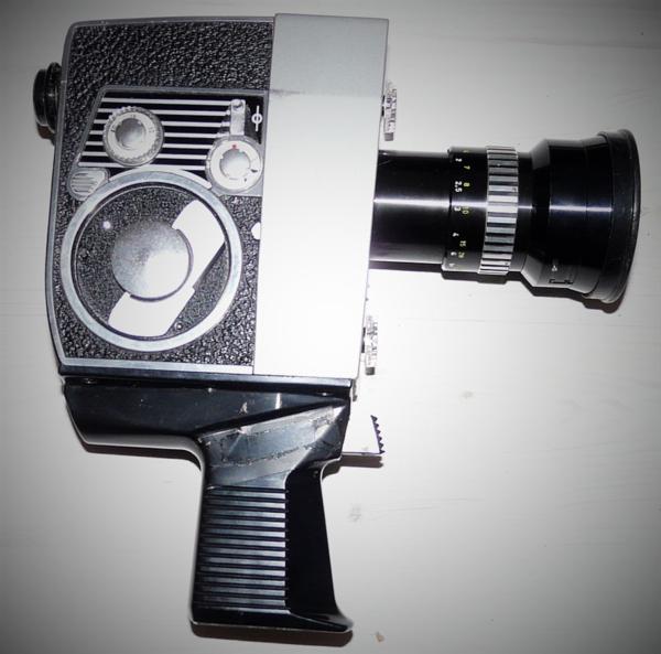 Bien éDuqué Bolex Paillard Zoom Reflex Automatic S1 Camera Mecanique Super 8 Dans Son Etui