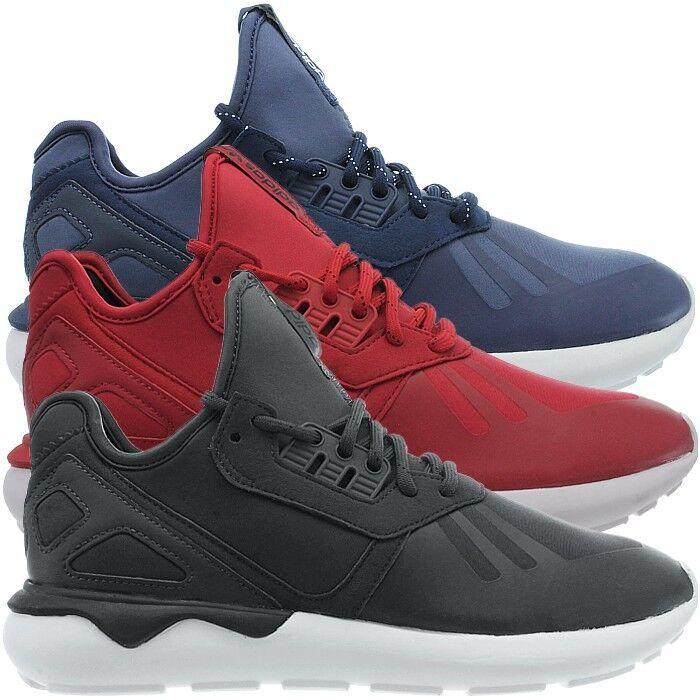Adidas Tubular Runner Herren FreizeitZapatos mid-cut Sneakers Azul rot grau FreizeitZapatos Herren NEU 4286b8