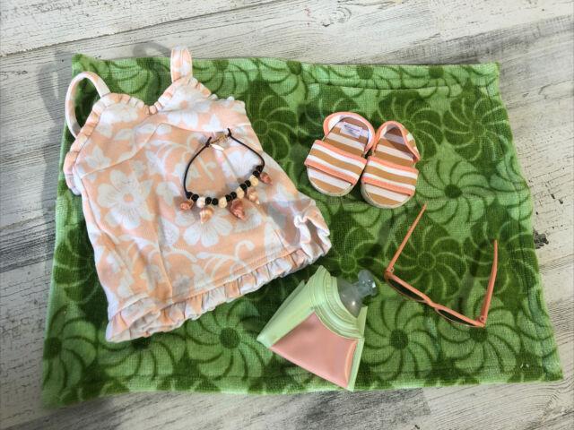 American Girl Molly/'s 1944 Swim Suit RETIRED!! New