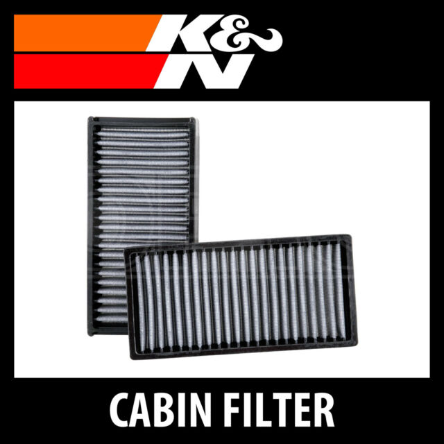 K&N Washable Cabin Air Filter (2 Per Box) VF2022