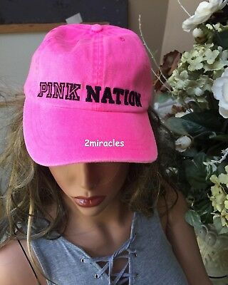 Victoria Secret PINK NATION Baseball Cap NWT