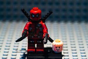 Marvel Comics Super heroes Deadpool Minifigure Mini Figure Kids Toys Craft WM587