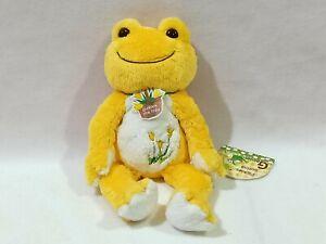Pickles the Frog Spring Garden Plush Toy Yellow Orange ...