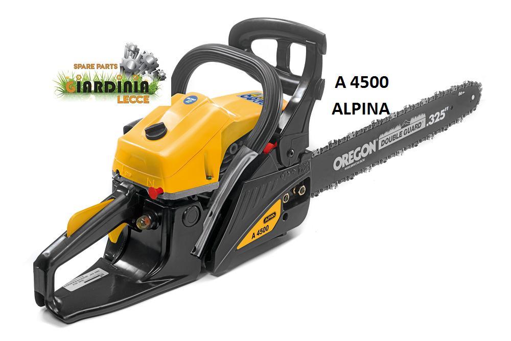 MOTOSEGA ALPINA A 4500 Barra 18  (45 cm) passo 325  45,02 cc