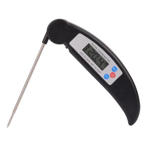 Digital Lebensmittel Thermometer Temperaturfühler Küchenthermometer Backen Milch