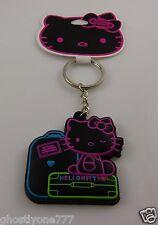 Hello kitty on travel Sanrio Key Chain keychain neon colors