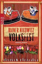 Volksfest  Rainer Nikowitz  Krimi Österreich  Taschenbuch   ++Ungelesen++
