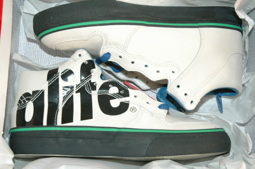ALIFE EVERYBODY HIGH TOY SHOES OFF WHITE 6 supreme