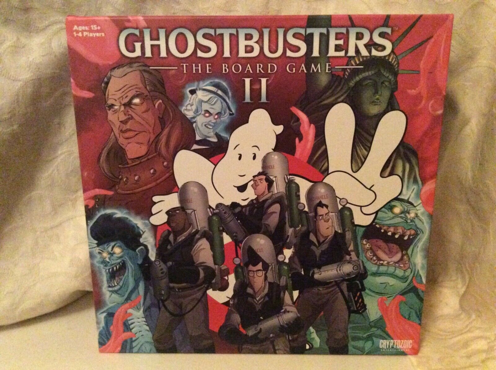 Ghostbusters The Board Game II & & & Louis Tully expansion - Cryptozoic cd9d29