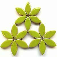 50g 25mm Ceramic Petal Mosaic Tiles in a Choice of Colours approx. 27 petals