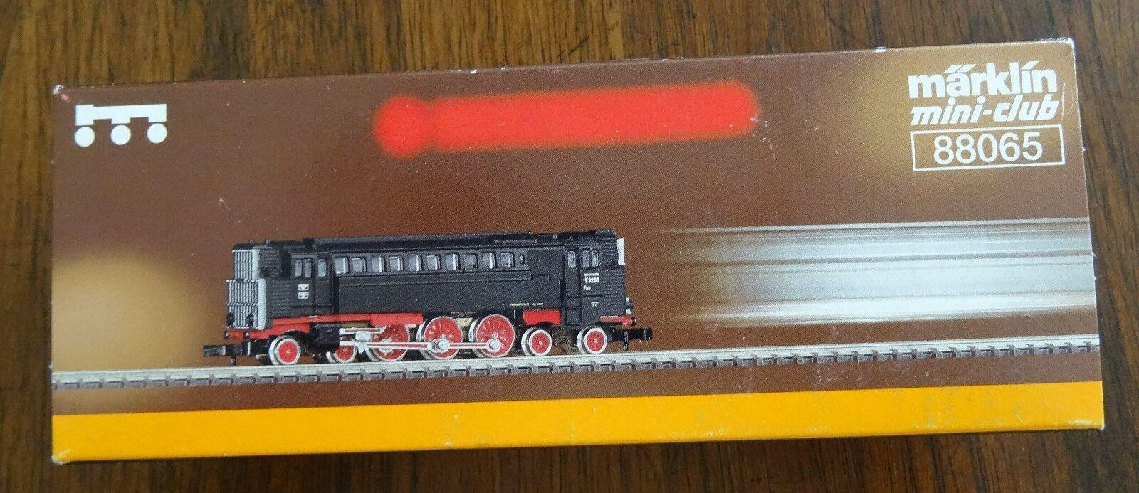 Bre nuovo Marklin  88065 Diesel Pneumatic Locomotive Mini Club Z Scale