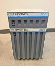 Cti Cryogenics Helix 8001 Controller 8300 Compressor Recirculating Water Chiller