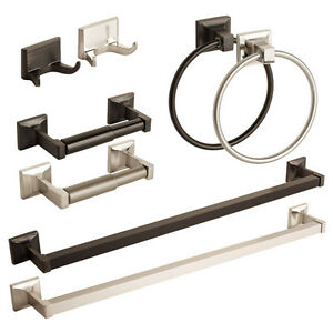 Modern bathroom hardware set bath accessories towel bar - Modern bathroom accessories sets ...