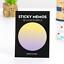 30pcs//Pack Marble Concrete Universe Mini Memo Pad N Times Sticky Notes Bookmark