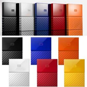 Western-Digital-4TB-2TB-1TB-My-Passport-HDD-USB-External-Portable-Hard-Disk-WD