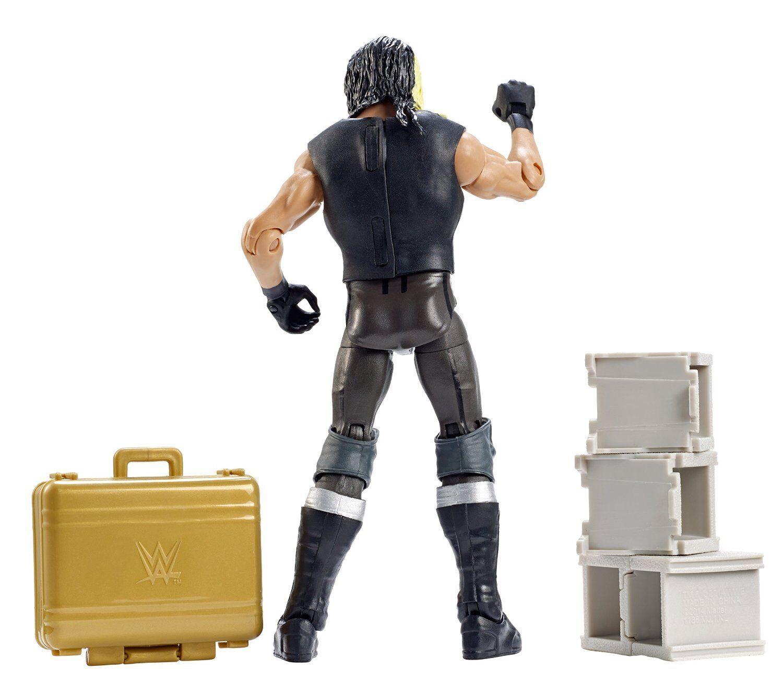 WWE SETH ROLLINS ELITE ELITE ELITE 37 WRESTLING FIGURE 2015 MITB BRIEFCASE SHIELD NEW ATTIRE 31ccd1
