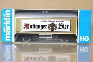 MARKLIN-MARKLIN-4415-K8019-Sondermodell-mutlanger-BIER-bierwagen-biere-WAGON-NC