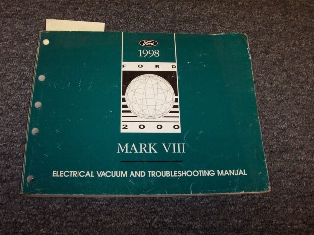 1998 Lincoln Mark Viii 8 Electrical Wiring  U0026 Vacuum