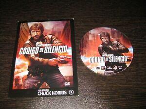 Codice De Silencio DVD Chuck Norris Henry Silva Bert Remsen