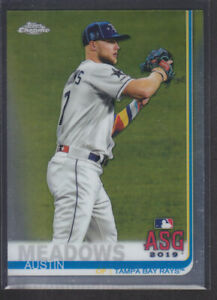 Topps-Chrome-Update-2019-96-Austin-Meadows-Tampa-Bay-Rays