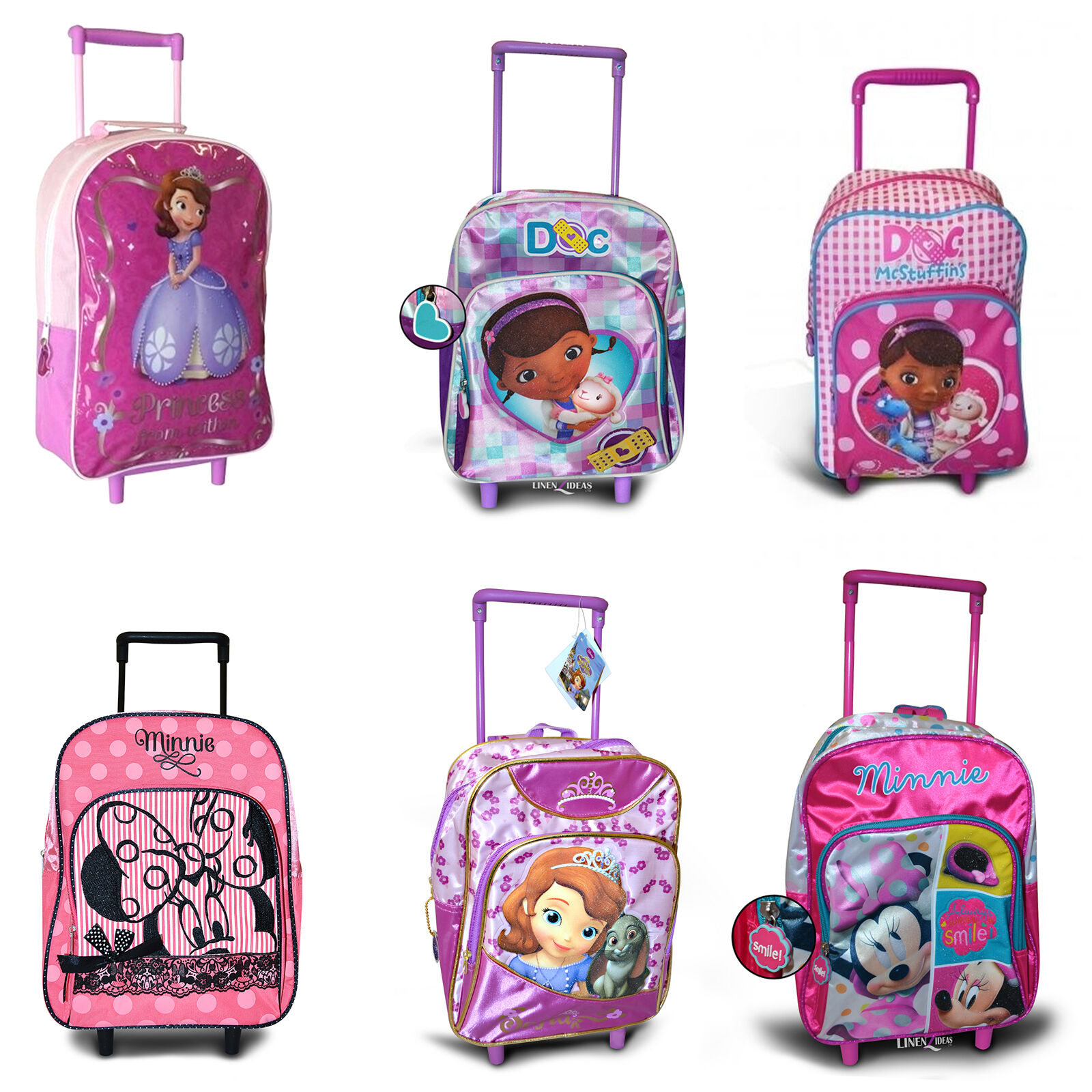 Niños Disney & Niños Personaje Vacaciones Maleta De Viaje Trolley ...
