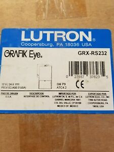 NEW IN BOX GRXRS232 LUTRON GRX-RS232