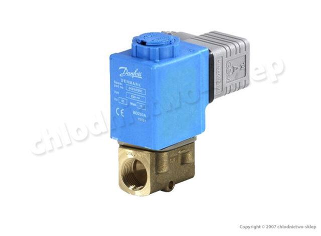 "Solenoid valve Danfoss EV210B 3B, NC, 3/8"", 12V 24V 110V 230V 50/60Hz, 032U1225"