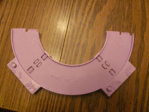 "Polly Pocket Disney /""curved train track/"" Magic Kingdom replacement piece"