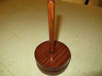 Handmade Hardwood Knitting Spindle, Yarn Holder