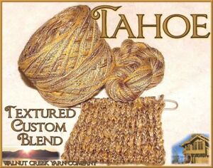 TAHOE-Rich-Rayons-Cottons-Blend-Yarn-LIMITED-EDITION-Knit-Crochet-Weave