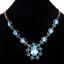 Fashion-Elegant-Women-Rhinestone-Crystal-Choker-Bib-Statement-Pendant-Necklace thumbnail 12
