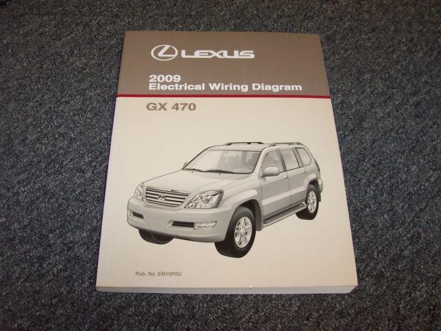 2009 Lexus Gx470 Suv Factory Original Electrical Wiring