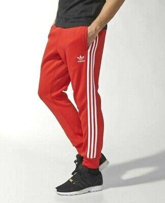 NEW MEN'S ADIDAS ORIGINALS SUPERSTAR CUFFED TRACK PANTS ~ LARGE #DV1534 RED 191027103253   eBay