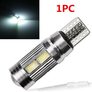 1PC-T10-White-194-W5W-5630-LED-10-SMD-CANBUS-ERROR-FREE-Car-Side-Wedge-Light