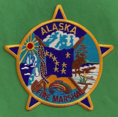 ALASKA STATE FIRE MARSHAL PATCH