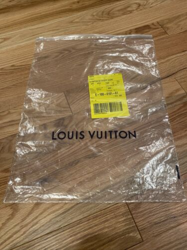 "Luis Vuitton Dust Zipper Bag 16'' x 21"" for shoes/"