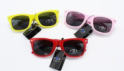 One Dozen 12X Wholesale Pairs Kids Cyclops Futuristic Sunglasses #P1159-12