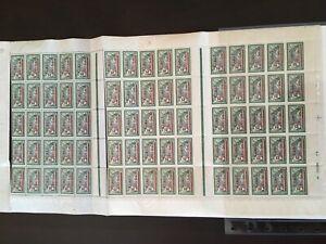 Memel-Nr-66-Bogen-komplett-postfrisch-Plattenfehler-C0328