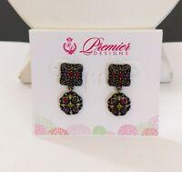 Premier Designs Jewelry Tapestry Post Back Earrings