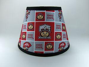 Ohio State University Buckeyes Fabric Lamp Shade Lampshade NCAA ...
