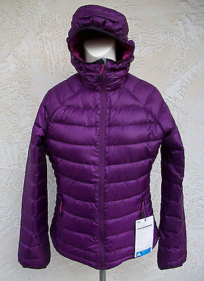 New Eddie Bauer First Ascent Womens Downlight Jacket Coat Silver NWT Down