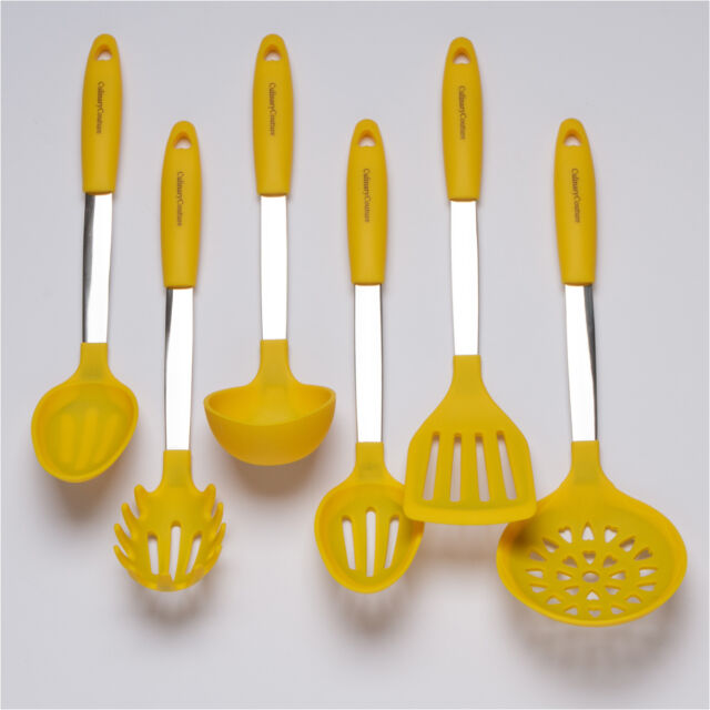 Stainless Steel Amp Silicone Cooking Utensil Set Kitchen