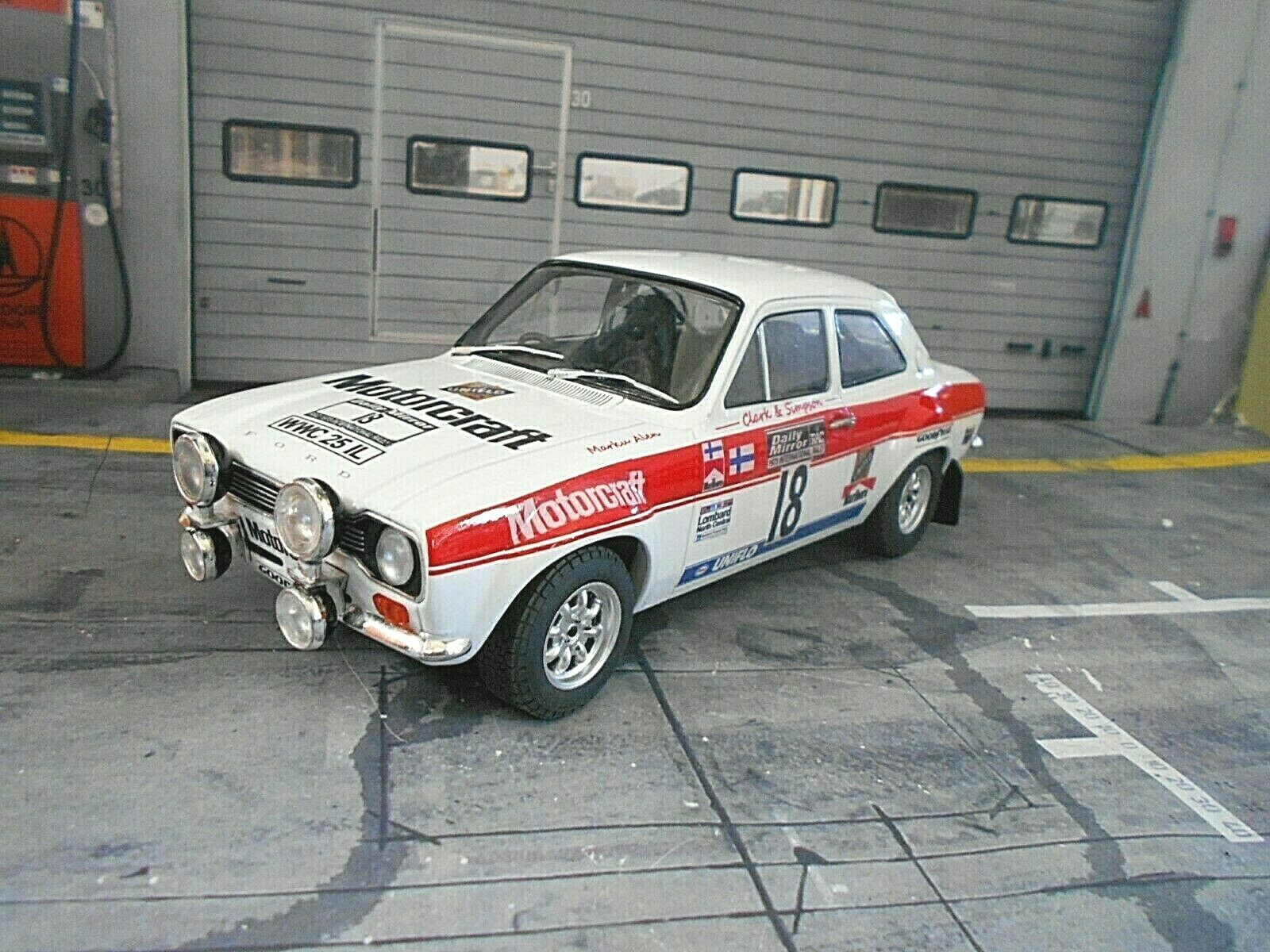 Ford Escort MkI RS 1600 RAC RALLY GB 1973 Alen MOTOCRAFT IXO BA Conversion 1 18