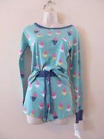 Munki Munki Pink Pigs In Teacups 2pc Set Pajamas Pjs Sz Xs